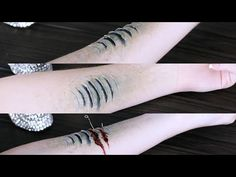 How to Make Mermaid Gills | Halloween Special FX Series 2016 - YouTube