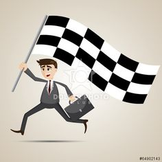 https://cz.dollarphotoclub.com/stock-photo/cartoon businessman with racing flag/64902143 Dollar Photo Club miliony kvalitních obrázků za 1$ za každý