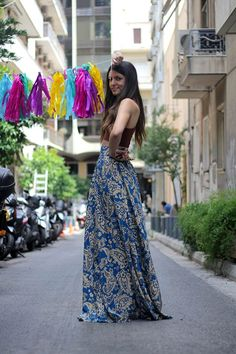 Mariloo // Karavan Clothing  blog.karavanclothing.com #karavanclothing #karavan #marilookaravan We Wear, How To Wear, Greek, Designers, Comfy, Seasons, Casual, Skirts, Closet