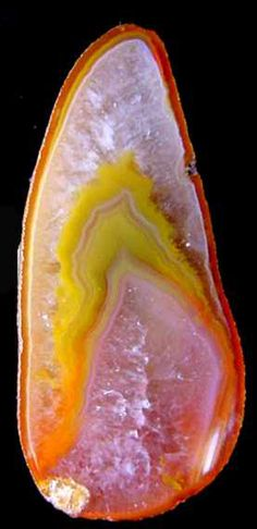 Agate slice from Australia