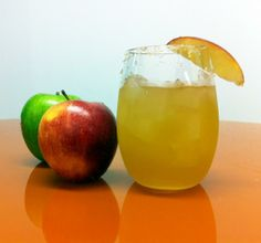 """Try this fall-twist on a traditional summer cocktail. """"An apple-a-day"""" applies to apple cider too, right?"""
