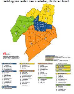 Dit zijn de duurste buurten van Leiden - indebuurt Leiden Leiden, Map, Location Map, Maps