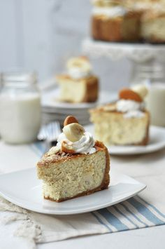 Bourbon Banana Pudding Cheesecake by The Candid Appetite