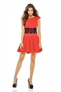 Red Skater Dress ❤️