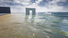UE4 Ocean Water Shader