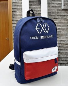 Kpop EXO Planet new canvas school backpack
