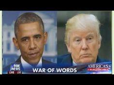 #Fox & Friends (August 3, 2016) #War Of Words - #Trump & Potus Clash As ...