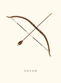 I'd love to have this bow or Legolas's from Lord of The Rings <<<Excuse me you dare to bring that up while talking about Susan?