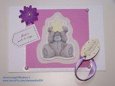 Thinking Of You Card. Tatty Teddy Bear Handmade by StardustPaper, $4.40  https://www.etsy.com/listing/122526318/thinking-of-you-card-tatty-teddy-bear?ref=af_circ_favitem&atr_uid=42180799