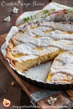 Short Pastry, Torte Cake, Sweet Desserts, Creative Food, Cake Cookies, Italian Recipes, Cake Recipes, Food And Drink, Cooking Recipes