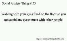 (12) social anxiety | Tumblr