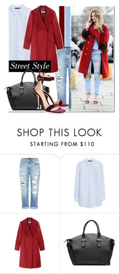 """""""Street Style..."""" by nfabjoy ❤ liked on Polyvore featuring Genetic Denim, Violeta by Mango, Sportmax, Alexander McQueen, Gianvito Rossi and StreetStyle"""