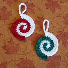 Crochet Christmas Ornaments | thegirllovesyarn crochet christmas ornaments |