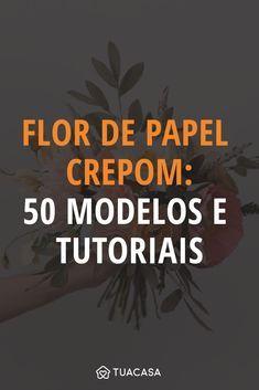 Flor de papel crepom: 50 modelos e tutoriais para embelezar o ambiente Crepe Paper, Handmade Flowers, Diy And Crafts, Backdrops, Moana, Suzy, Posters, Youtube, Ideas