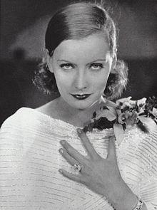 """Greta Garbo em foto de publicidade do filme mudo """"Wild Orchids"""" (1929)."""