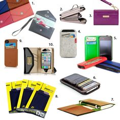 10 iPhone Wallets, Pockets & Wristlets for Snazzy Guys and Gals via Brit + Co.
