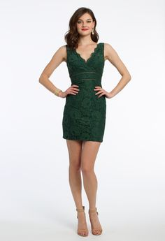 This lace party dres