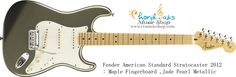 American Standard Stratocaster, Fender American Standard, Fender Usa, Fender Stratocaster, Rock N Roll, Mexico, Rock Roll