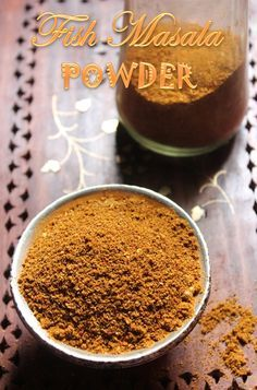 40 ideas for recipes fish healthy sauces Masala Powder Recipe, Masala Recipe, Homemade Spices, Homemade Seasonings, Fish Recipes, Indian Food Recipes, Podi Recipe, Masala Spice, Garam Masala