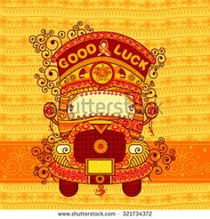 Find Vector Design Truck India Indian Art stock images in HD and millions of other royalty-free stock photos, illustrations and vectors in the Shutterstock collection. Mandala Art, Vector Design, Vector Art, Indian Illustration, Pop Art Wallpaper, Indian Folk Art, Truck Art, My Art Studio, N21