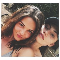 Danielle Campbell and Phoebe Tonkin
