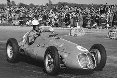1950 Silvertstone Maserati 4CLT-48 David Hampshire