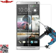 100% Brand New Japan Glass 2.5D 9H 0.2MM Tempered Glass Screen Protector For HTC ONE