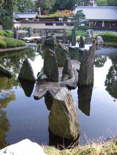 Matsunoo Taisha  Gardens of this Shinto shrine was created by Shigemori Mirei and his son.