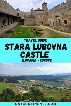 A complete guide to a stunning medieval castle in Eastern Slovakia - all you need to know before you visit: visitors info, videos, photos etc. Stara Lubovna Castle | Lubovna Castle Guide | Lubovniansky Castle Guide | Slovak Castles | Medieval castles in Slovakia | Things to do in Slovakia Stuff To Do, Things To Do, A Perfect Day, Medieval Castle, Travel Information, Family Travel, Castles, Travel Guide, Paths