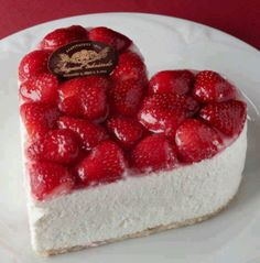 Valentine's Day - Use a heart cookie cutter on a homemade or store bought cheesecake.
