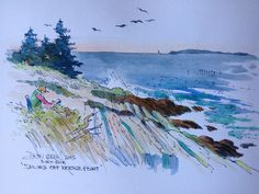 DON GETZ 'WATERCOLOR JOURNAL TOUR' OF THE USA