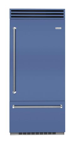 A range designed by BlueStar by Eric Cohler in Blueberry. A great way to make a bold statement in a dream kitchen design. Other colors in the collection include Sea Salt, Blackberry, Summer Herbs and Blackberry. Home Chef, Inspired Homes, Kitchen Design, Palette, Kitchen Appliances, Modern Kitchens, Seasons, Sea Salt, Blackberry