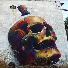 New Work by @sakeink #streetart