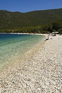 Antisamos Beach near Sami, Kefalonia (Cephalonia), Ionian Islands, Greece, Europe Worlds Of Fun, Around The Worlds, Great Places, Beautiful Places, Places To Travel, Places To Visit, Greek Islands, Countries, Islands