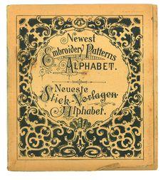 Embroidery Patterns Alphabet