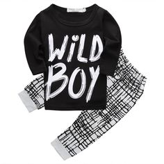 Wild Boy Outfit for Baby and Toddler, Clothing Set
