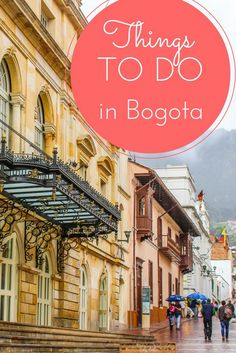 Thinking of forest trekking, dramatic Andean peaks, and a cobbled historic downtown? You're thinking of the Colombian city of Bogota!! This guide is for you - click through!!