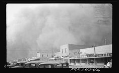 [Dust storm, Elkhart, Kan.]