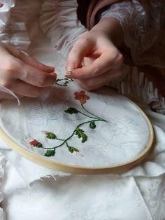 Soaking Wet, Good Morning World, Ivy House, Wild Spirit, Embroidery Needles, Girly Things, Girly Stuff, Needle And Thread, Needlework