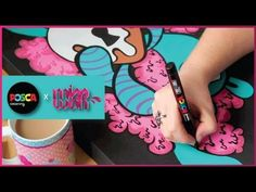 Posca x Miss Wah - Kawaii Graffiti Canvas (Vol 1) - YouTube