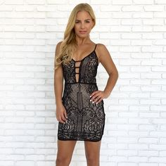 Dance All Night Crochet Bodycon Dress Party Dresses Online, Holiday Party Dresses, Boutique Dresses, Boutique Clothing, New Outfits, Fashion Outfits, Crochet Bodycon Dresses, Online Boutiques, Formal Dresses