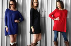 Slouchy PIKO Tunic! Sustainable! 50% off at Groopdealz! Lots of great desks!