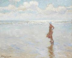 Gazing out to Sea   Charles Garabed Atamian, 1872-1947