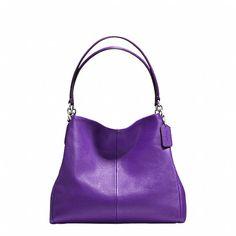 4f033ab99b PHOEBE SHOULDER BAG IN PEBBLE LEATHER Coach Messenger Bag