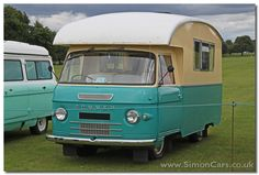 Commer FC Series IIa 1963. Classic Campers, Old Vintage Cars, Bus Life, Commercial Vehicle, Vw Camper, Motorhome, Recreational Vehicles, Trailers, Automobile