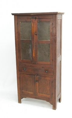 Punched Tin Panel Pie Safe. See More. Uncommon Southern Oak Pie Safe