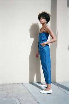 jumpsuit and shoes