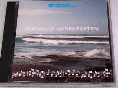 Chrysler Audio System Setup CD How to set Clock Radio CD Player + Pop Singers