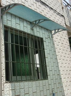 Out Door Polycarbonate AluminumAwnings