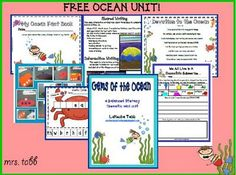 Ocean Balanced Literacy Unit (free!)